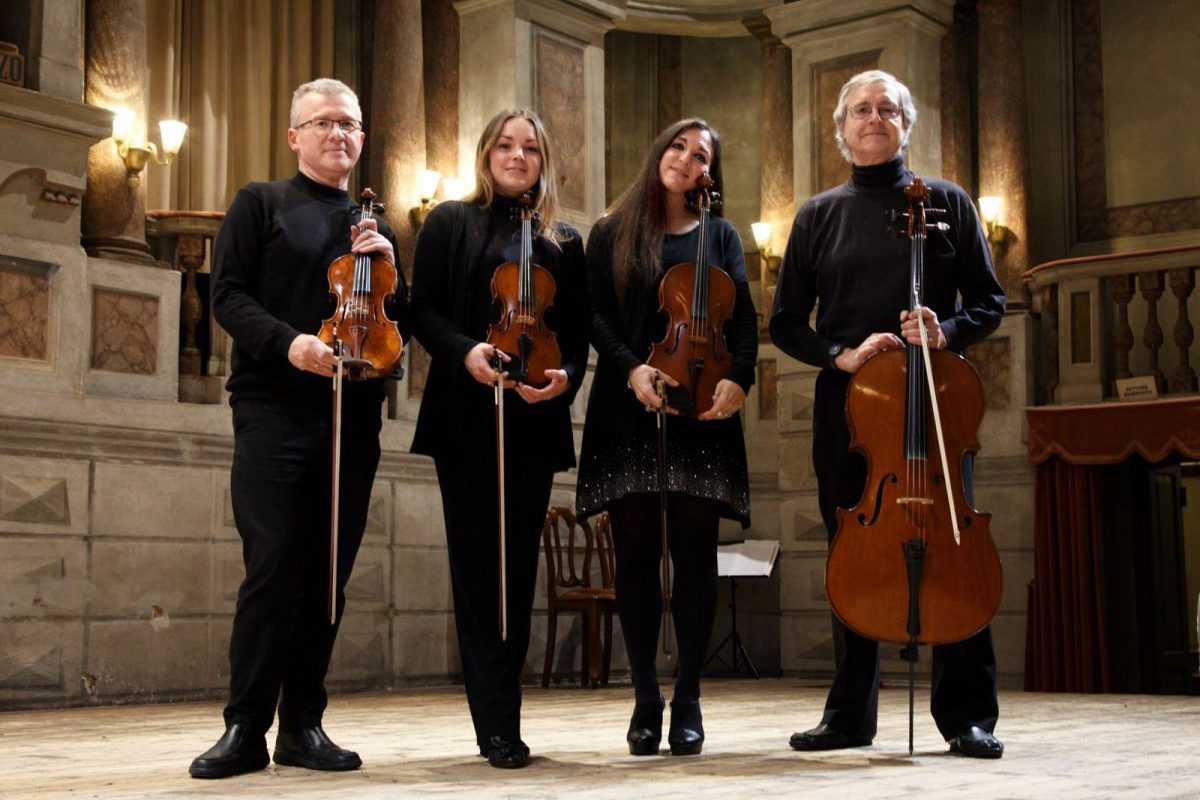 RICCITELLI QUARTETTO DELL'ACCADEMIA VIRGILIANA DI MANTOVA