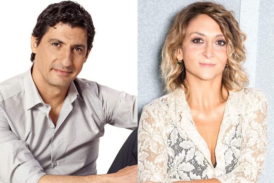 """Emilio Solfrizzi e Paola Minaccioni al Comunale di Atri con """"A testa in giù"""""""