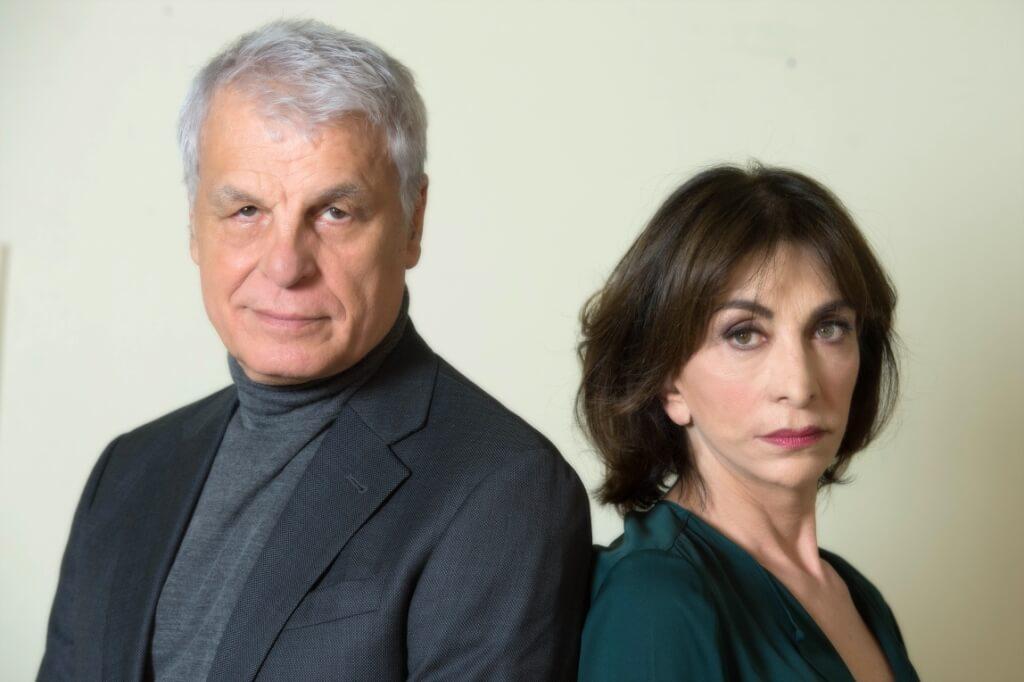 """I """"Piccoli crimini coniugali"""" di Placido e Bonaiuto a Teramo"""