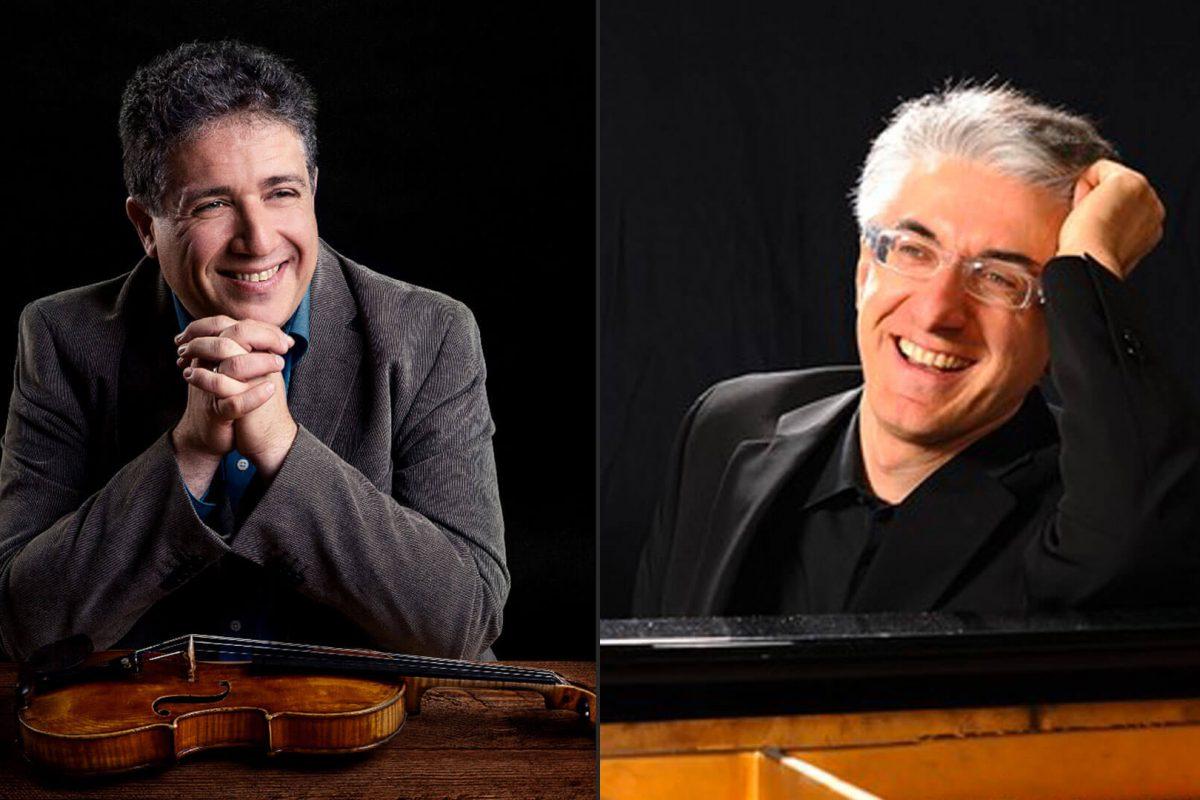 Il violinista Marco Rizzi e il pianista Roberto Arosio in concerto a Teramo