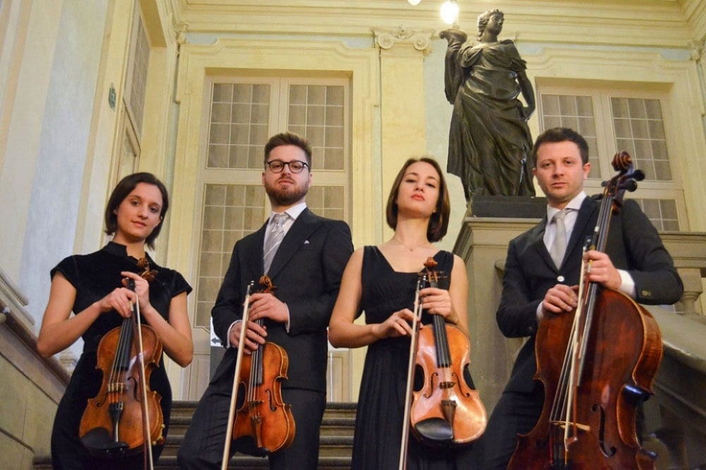 Il Quartetto Adorno in streaming per la Riccitelli
